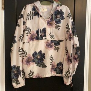 Thread and Supply Floral Poncho